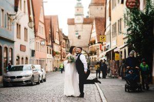 Brautpaarshooting-Hochzeitsfotograf Rothenburg ob der Tauber-Fotoshootings